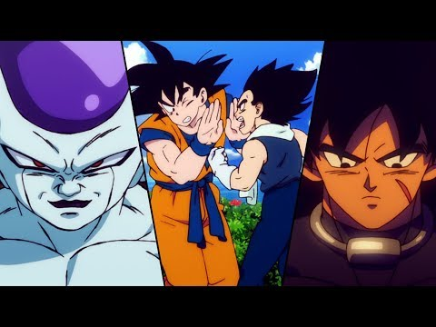 Broly Freeza and My Evolution with Dragon Ball