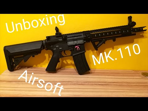 Unboxing Airsoft MK110