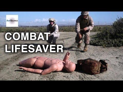 Marines Combat Lifesaver Techniques