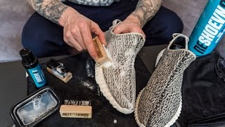 Yeezy Turtle Dove 350 - How to Deep Clean and Protect Your Yeezys
