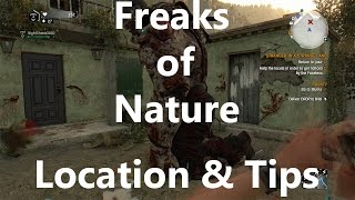 Location For All (That I Have Found) Freaks Of Nature Zombies - Dying Light: The Following