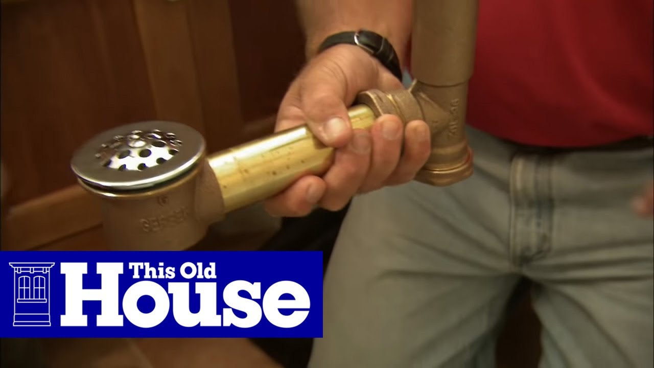 How to Fix a Bathtub Drain Stopper - This Old House - YouTube