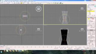 Моделирование штор в 3Ds Max
