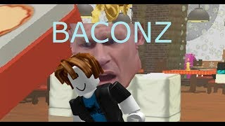 Roblox Bacon Hair plays: Work at a pizza place.