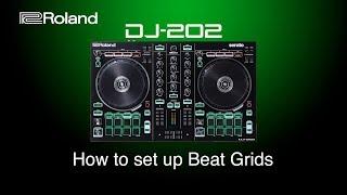 Roland - DJ-202 - How to set up Beat Grids