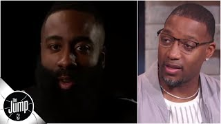James Harden interview reaction: Should he even care what Kobe Bryant, other critics say? | The Jump