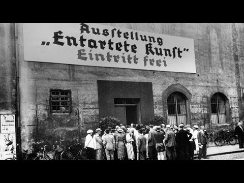 Munich 1937 - L'exposition d'art dégénéré (Entartete Kunst) du régime nazi