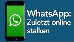 WhatsApp Tricks: Zuletzt Online-Status stalken