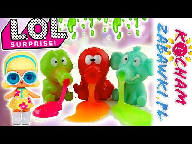 LOL Surprise & Slime Family • Impreza ze zwierzakami gluciakami • bajki po polsku