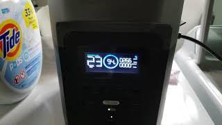 Ecoflow Delta 1000 Charging from 3500w Modifed Sinewave Generator