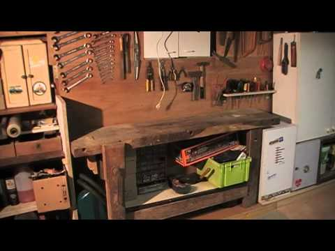 amenagement de garage en atelier de bricolage 12. Black Bedroom Furniture Sets. Home Design Ideas