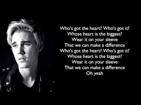 Justin Bieber - Children Lyrics