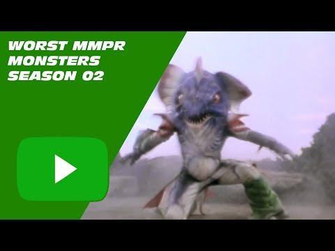 Top Ten #04 Worst Monsters - Mighty Morphin Power Rangers - Season 2