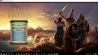 Como baixar e instalar o Age Of Empires Definitive Edition Sem erros Tutorial!