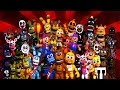 FNaF World EXTRAS ★ All Animatronics, Bosses, NPCs & Enemies ★