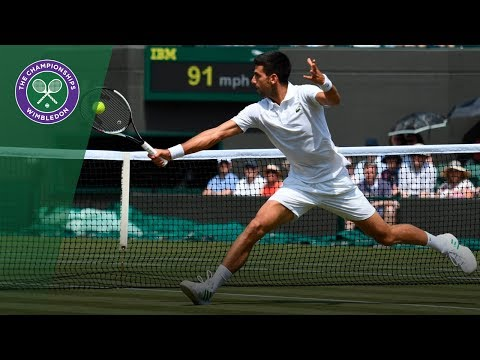 Novak Djokovic v Adam Pavlasek highlights - Wimbledon 2017 second round