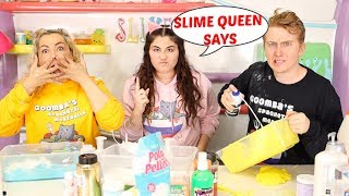 SLIME QUEEN SAYS CHALLENGE! (Simon Says) Slimeatory #563