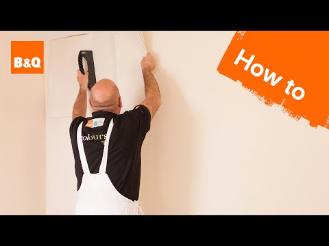 How to hang wallpaper part 1: preparation