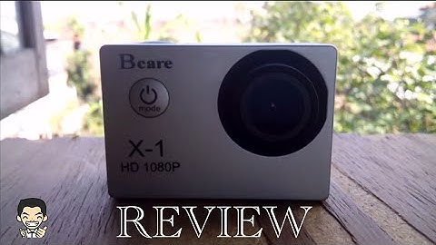Review Bcare Bcam X1 Action Camera 12mp 1080p FullHD 30fps