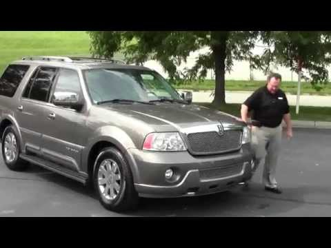 Used 2004 Lincoln Navigator 4wd for sale at Honda Cars of Bellevue...an Omaha Honda Dealer!
