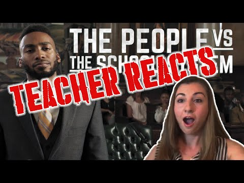 Teacher Reacts to Prince EA - I JUST SUED THE SCHOOL SYSTEM !!!