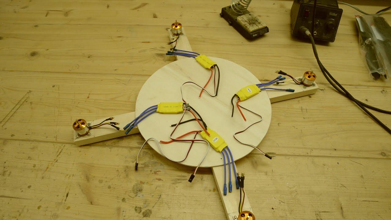 quadrocopter eigenbau teil 2 motoren und regler youtube. Black Bedroom Furniture Sets. Home Design Ideas