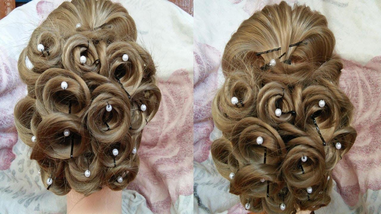 Juda Hairstyle For Wedding Perfect Bridal Bun Step By Step Easy Wedding Hairstyle For Party Youtube