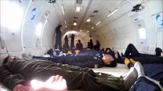 My Zero-G Flight -- aka the VOMIT COMET