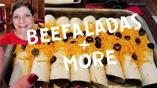 🍲Large Family Mom's Cooking DAY Turns Into DAYS | Beefaladas & Venison Kabobs