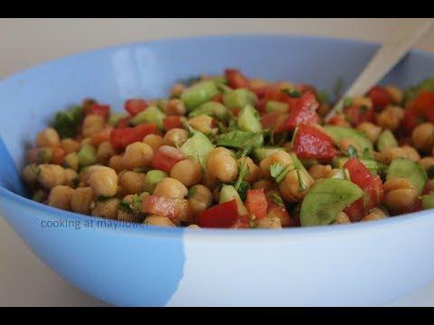 Healthy Chickpea Salad l Vella Kadala Salad