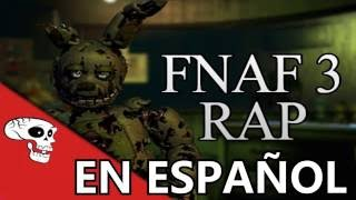 "FIVE NIGHTS AT FREDDYS RAP ""ANOTHER FIVE NIGHTS"" ANIMACION EN ESPAÑOL"