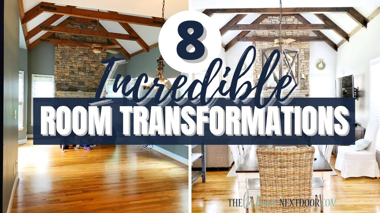 8 DRAMATIC ROOM TRANSFORMATIONS | The Power of Paint
