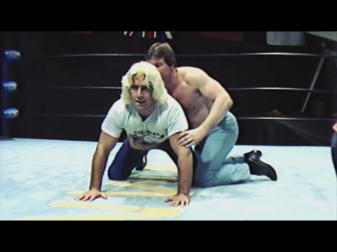 Ric Flair and Roddy Piper see who's the better grappler: Mid-Atlantic Championship Wrestling 1982