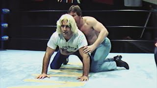 Ric Flair and Roddy Piper see who