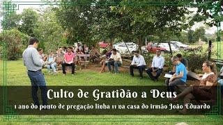 Culto de Gratidão a Deus