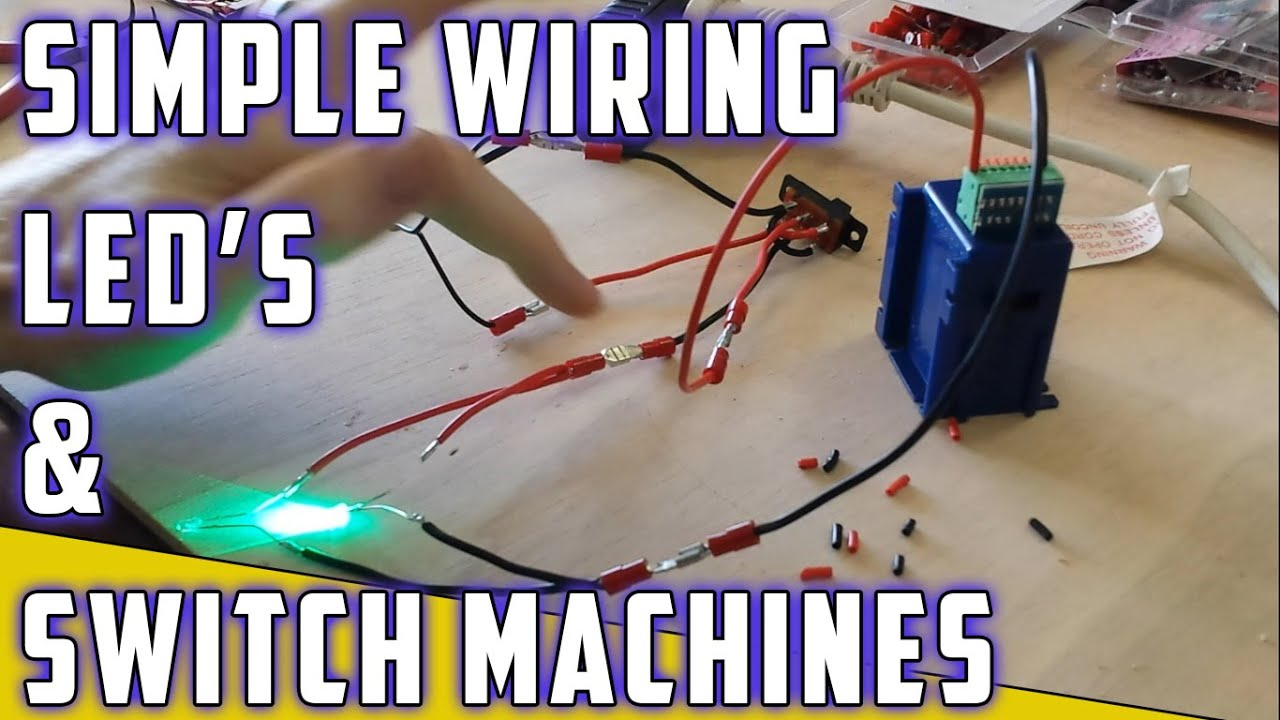 Model Railroad How To Switch Machine With Leds Youtube Wire A Kato