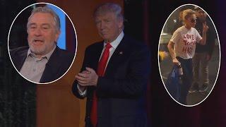 Robert De Niro, Amy Schumer and Lady Gaga Are Still Distraught Over Trump's Win