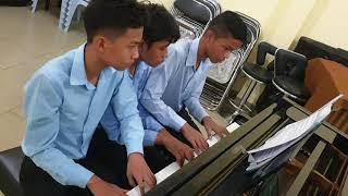 Hallelujah by G. F. Handel for Piano Six Hands arr. C. Czerny