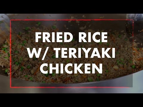 Fried Rice & Teriyaki Chicken with Chef Greg | REC TEC Grills