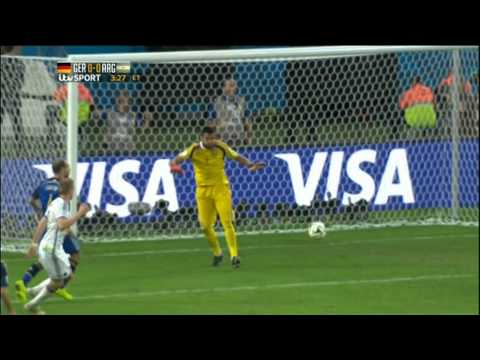 Germany Argentina 2014 World Cup Final Full Game ITV