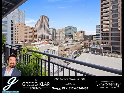 Incredible downtown Austin condo for under 355k!  Capital VIEWS!