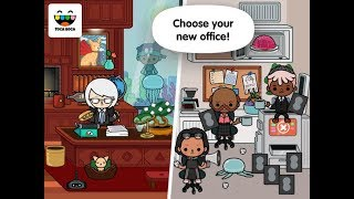 Toca Life : Office - iPad app demo for kids - Ellie