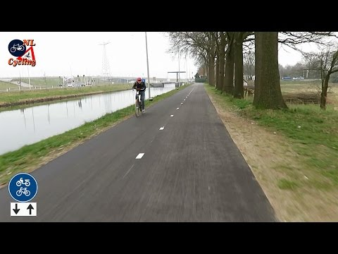 Cycling from Den Bosch to Veghel (double speed)
