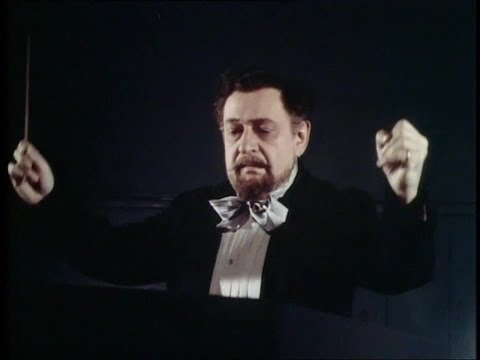 Erich Wolfgang Korngold's appearance in Magic Fire (1955)
