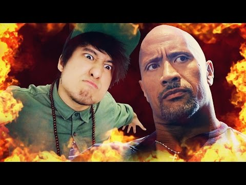 MUSIKVIDEO feat. THE ROCK & KEVIN HART (HeyJu-Special) | Julien Bam