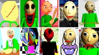 10 NEW Baldi's Basics in Education and Learning Mods