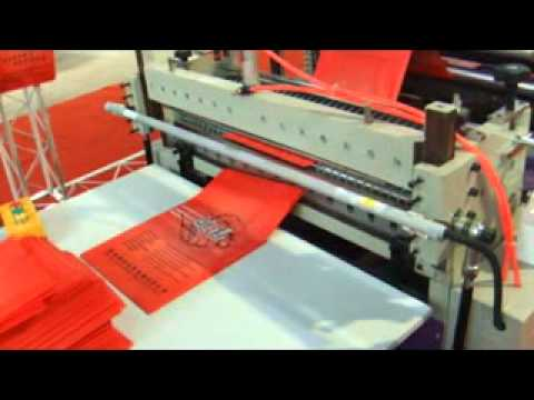 Eco Friendly Bag Making Machine Mpg Youtube