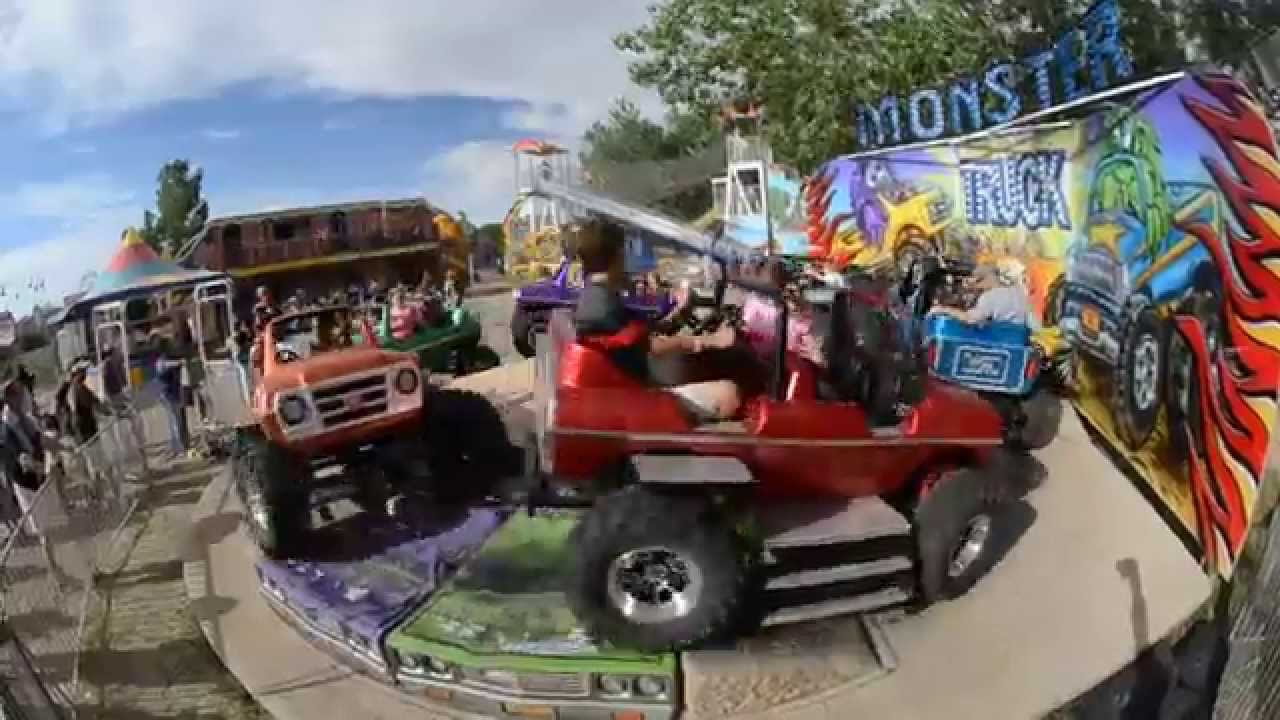 4x4 monster truck ride at parker days youtube