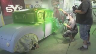Model A Hot Rod Garage Paint Job. Not A How To!