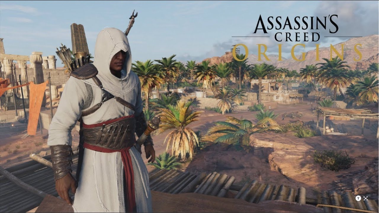 Assassin S Creed Origins Altair Outfit Gameplay Youtube